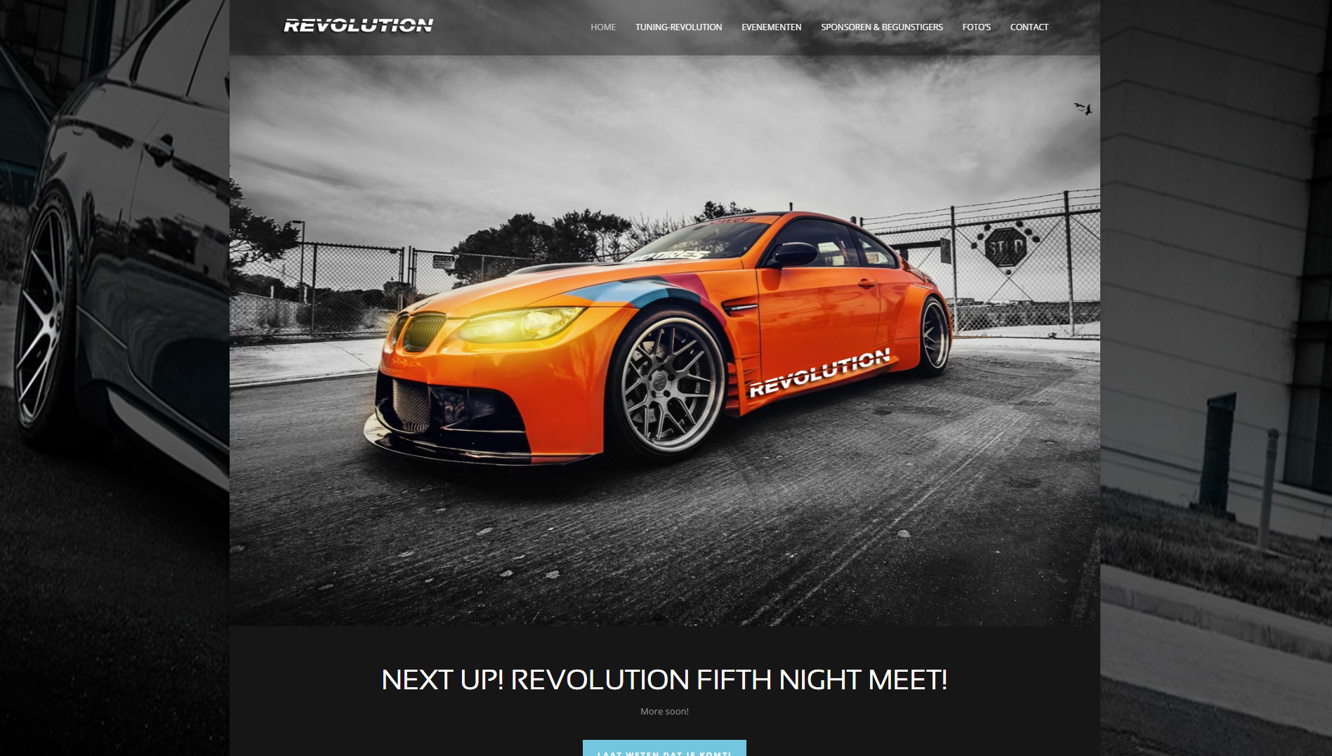 Tuning-revolution.nl website